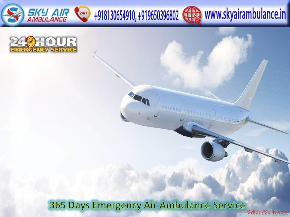 second hand/new: Hire Air Ambulance Service in Bagdogra with no hidden price