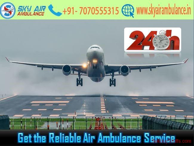 second hand/new: Utilize Air Ambulance in Delhi with Extensive Care
