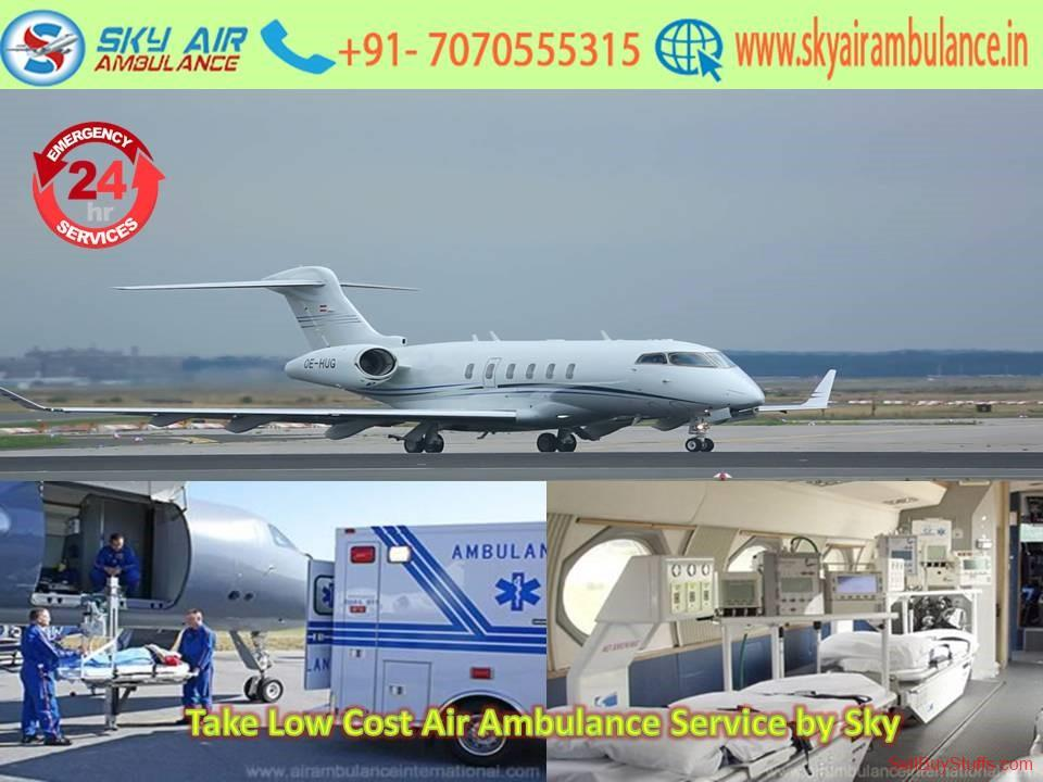 second hand/new: Available ICU Special Air Ambulance Service in Jaipur