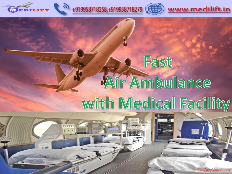 second hand/new: Book Prominent and Quick Air Ambulance Services in Indore