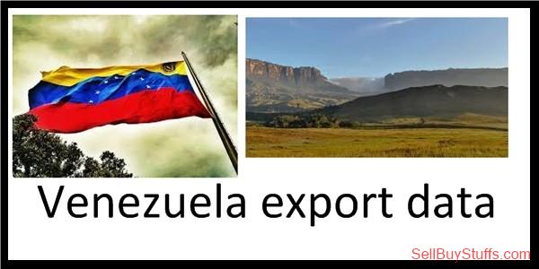 second hand/new: Venezuela export data