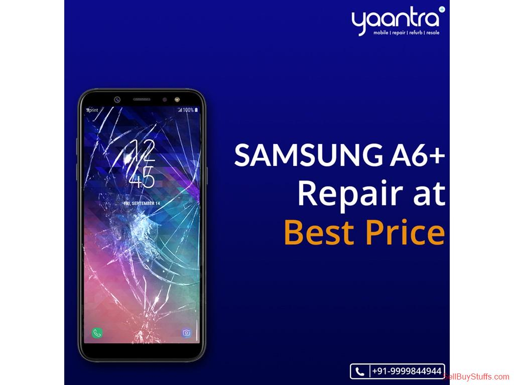 second hand/new: Samsung A6+ Repair at very pocket-Friendly Budget: Book It now