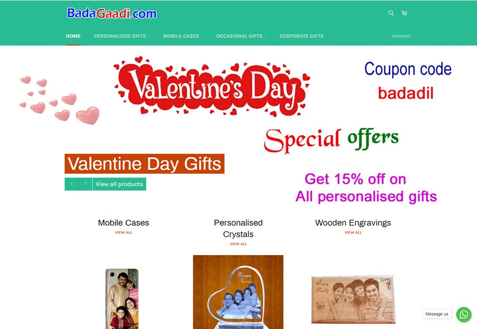 business Personalised Gifts Online in India