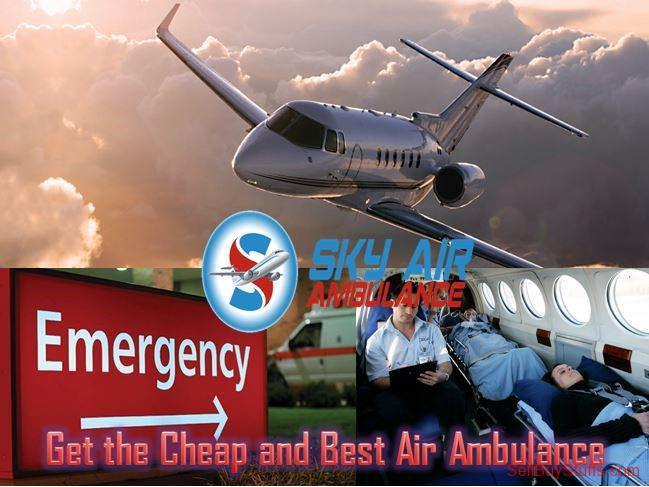 second hand/new: Use Sky Air Ambulance in Ranchi with Unique Medical Care