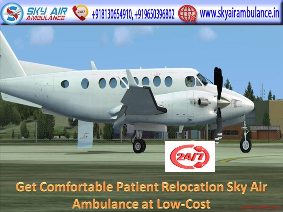 second hand/new: Peerless and Cost-Effective Air Ambulance in Ranchi by Sky Air Ambulance
