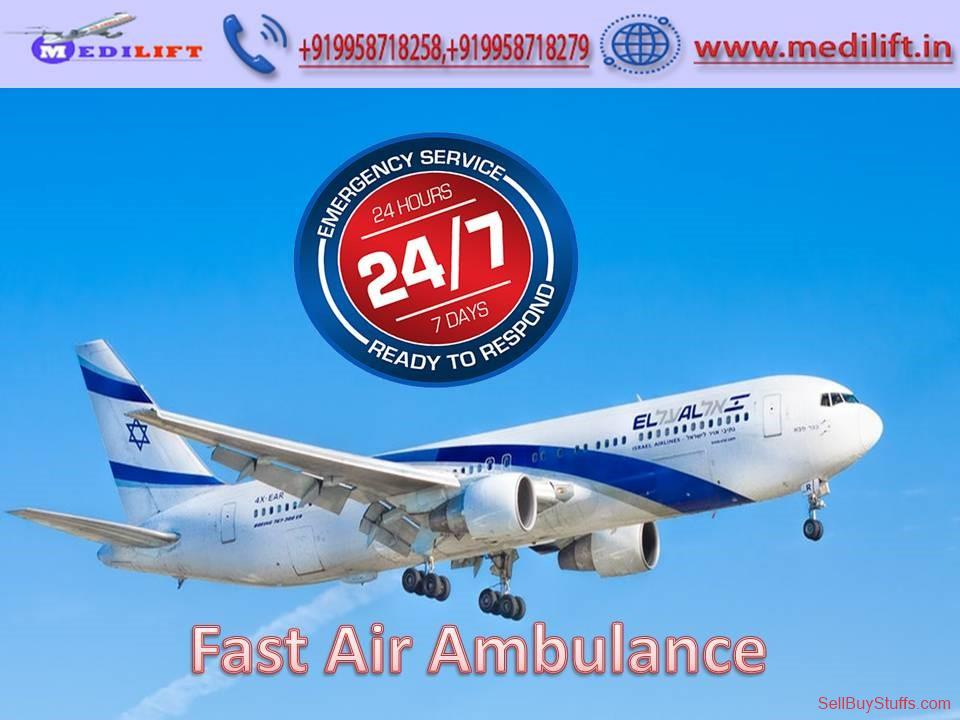 second hand/new: Hire Trusted and Fast Air Ambulance in Guwahati by Medilift