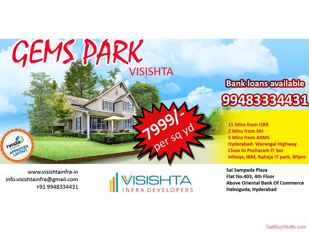 HYDERABAD-TELANGANA Visishta Infra Developers-Hyderabad|Open Plots Sales in bibinagar near AIIMS