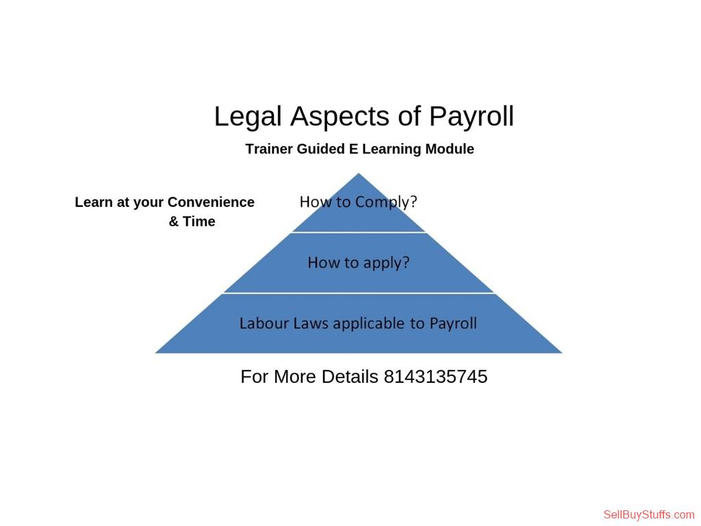 second hand/new: Legal  Aspects Of Payroll  Online Training  Module