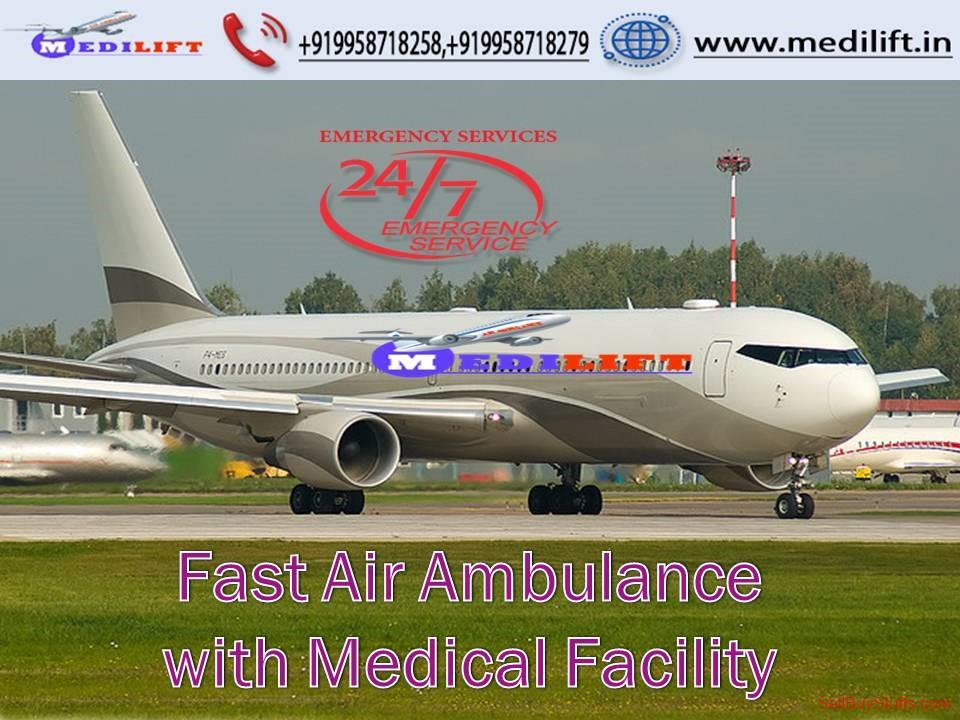 second hand/new: Hire Fastest Air Ambulance Services in Dibrugarh