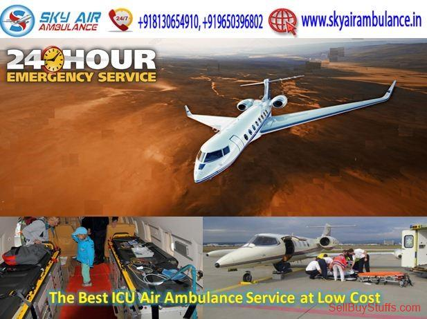 second hand/new: Take Highly Advanced ICU Air Ambulance Service in Bhopal