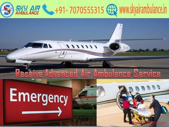 second hand/new: Utilize Air Ambulance Service in Delhi with Medical Care