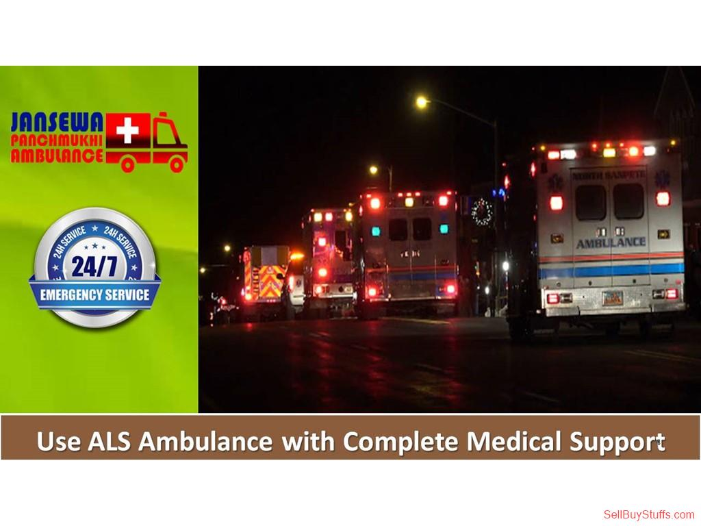 Dhanbad Hire Jansewa Panchmukhi Ambulance in Dhanbad with Fine Medical Support