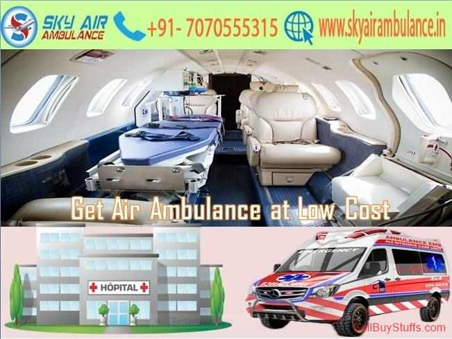 second hand/new: Utilize Air Ambulance in Kolkata with Expert Medical Executive