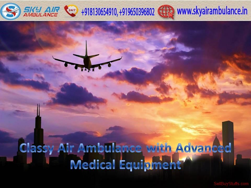 second hand/new: Now Easily Book Sky Air Ambulance in Dibrugarh with Doctor Team