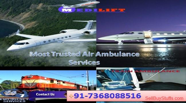 second hand/new: Take Time-Saving Medilift Low-Cost Air Ambulance Services in Delhi