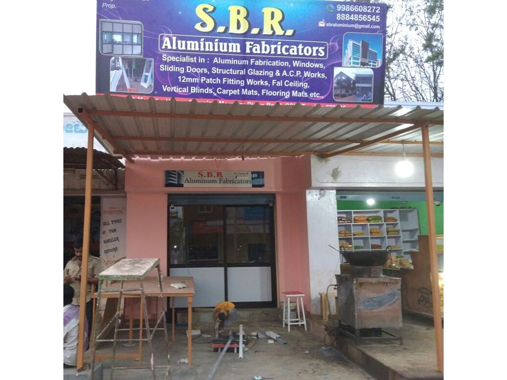 second hand/new: SBR Aluminium Fabricators
