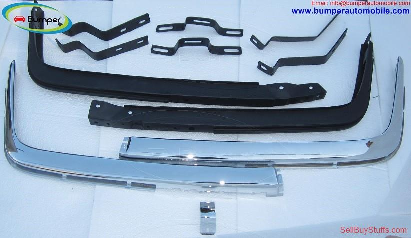 Delhi Mercedes W107 Chrome bumper type Euro by stainless steel