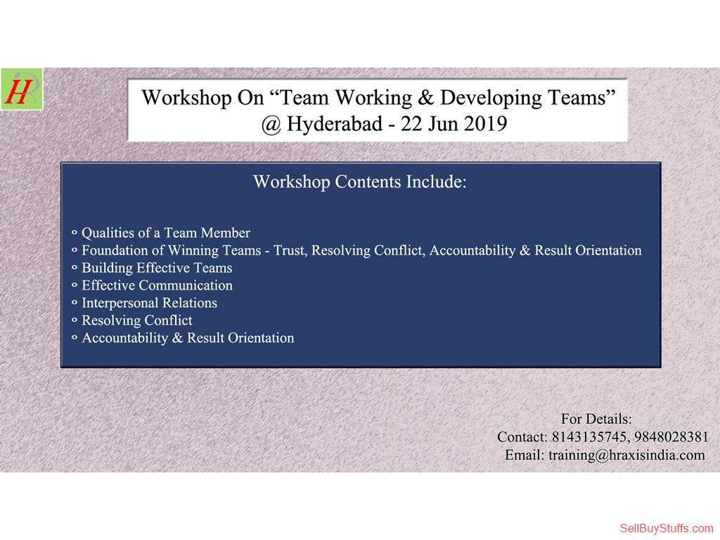 second hand/new: Workshop on Team Working & Developing Teams