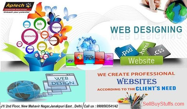 second hand/new: Web Designing Course in  Aptech janakpuri east Delhi