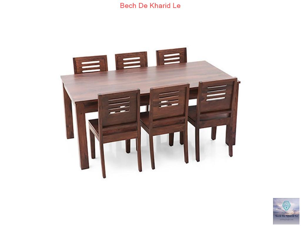 Jodhpur Suthar Furniture Sheesham Dining Set 6- Seater and 4 Seater 10 year warranty