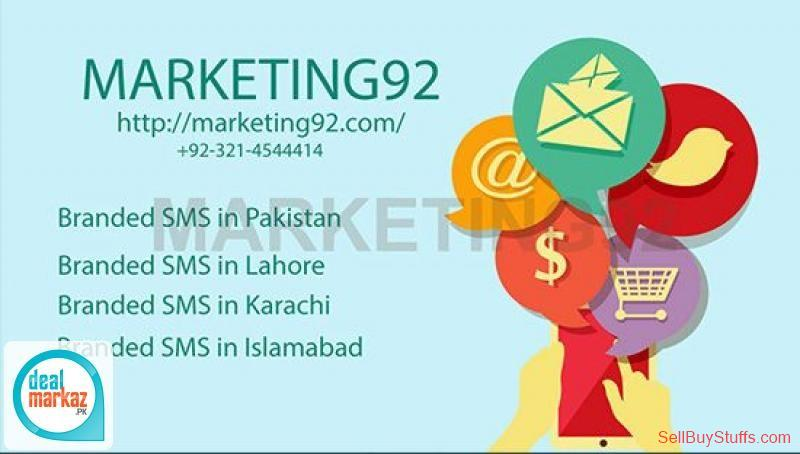 second hand/new: Best Branded SMS Services in Lahore, Pakistan