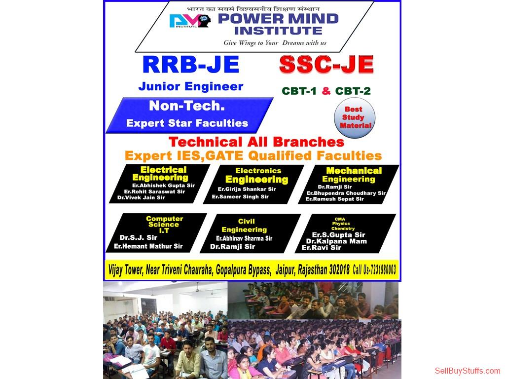 second hand/new: SSC, Bank, DMRC, Delhi Police, RRB JE, Coaching