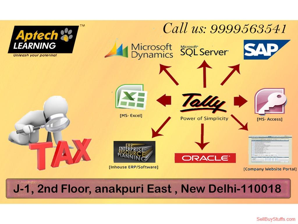 second hand/new: Aptech Janakpuri offers Tally ERP 9.0 Course
