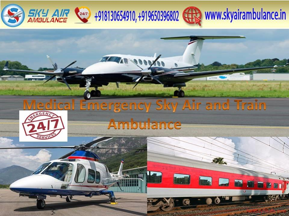 second hand/new: Get Spectacular Air Ambulance in Guwahati with Advanced Medical Facility