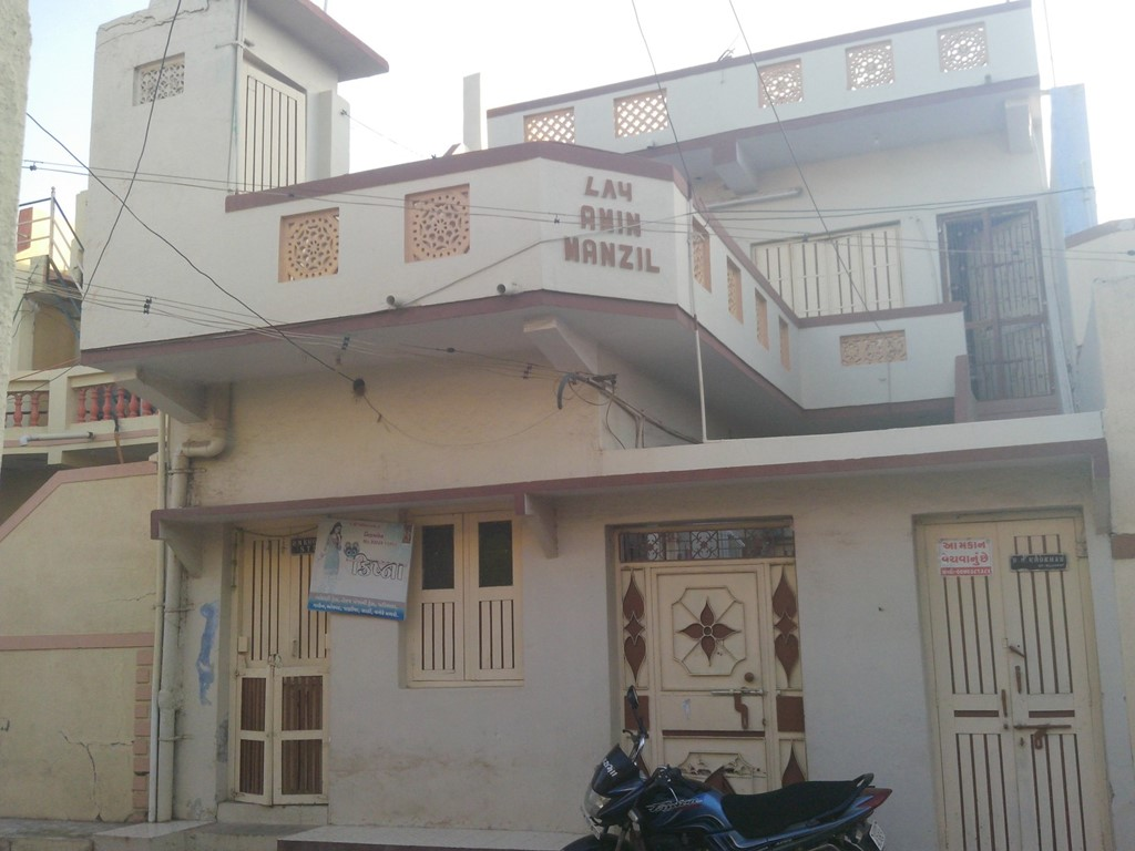Property/Row houses/Flats: Amin Manzil Man Mandir society Wankaner District Morbi Gujarat