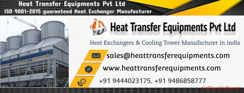 second hand/new: Cooling Tower Manufacturers & Heat Exchanger Manufacturers in India - Heat Transfer Equipments