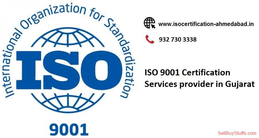 second hand/new: ISO 9001 Certification Services provider in Gujarat.