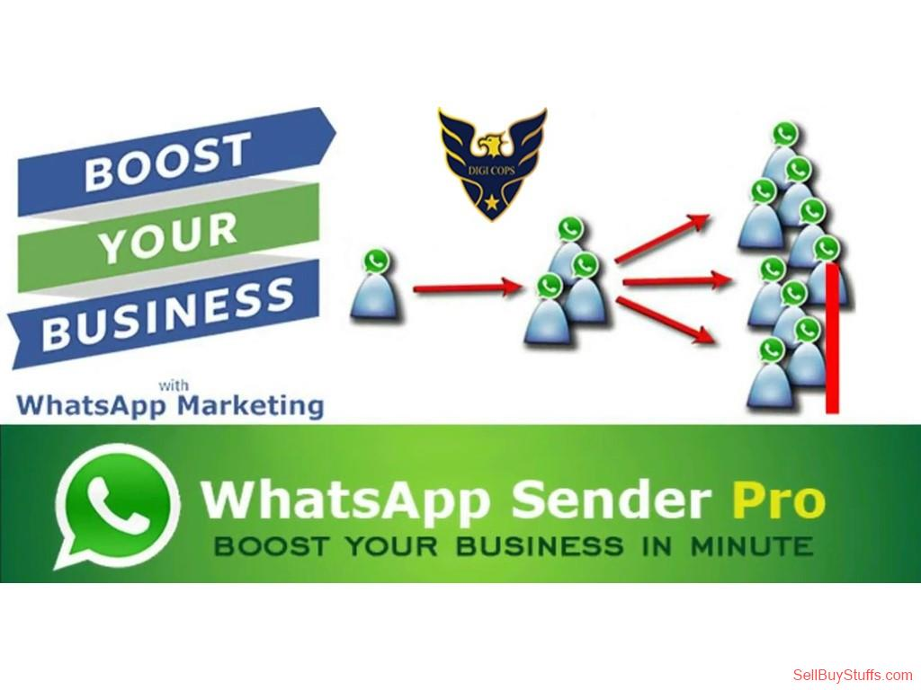 second hand/new: Bulk whatsapp software HIGH SPEED