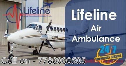 Jaipur Fully ICU Enabled Service by Lifeline Air Ambulance in Jaipur
