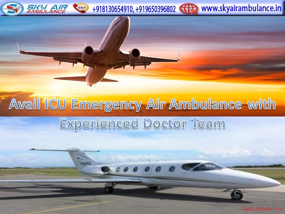 second hand/new: Get an Economical-Cost Air Ambulance Service in Patna by Sky