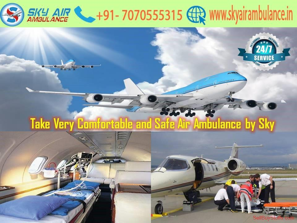 second hand/new: Hire Dedicated ICU Air Ambulance Service in Raipur