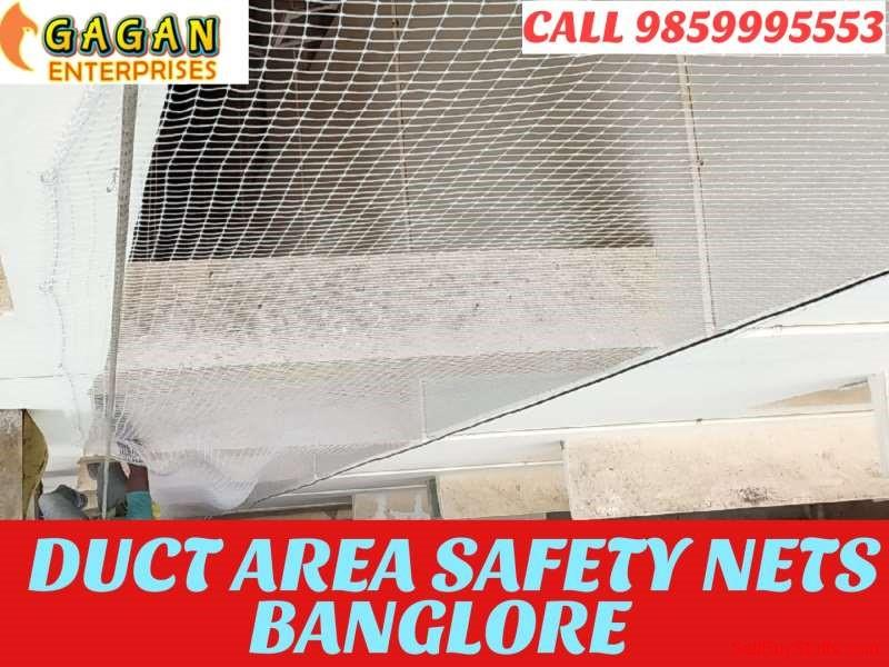 Bangalore Gagan Duct Area Safety Nets | Duct Area Pigeon Nets | Bird Nets In Bangalore