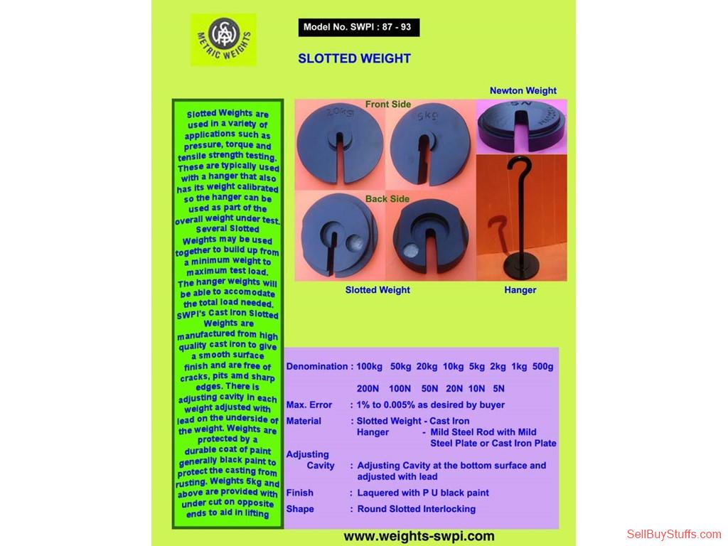 Deoghar Slotted Weights