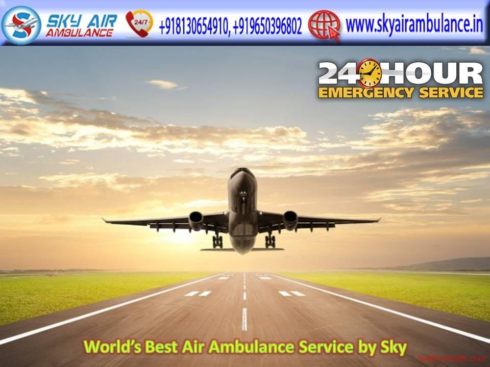 second hand/new: Book Sky Air Ambulance Service in Bhopal at a Low Price