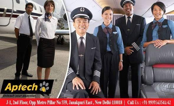 second hand/new: Air Hostess/Cabin Crew/Ground Staff Courses in Aptech janakpuri east Delhi