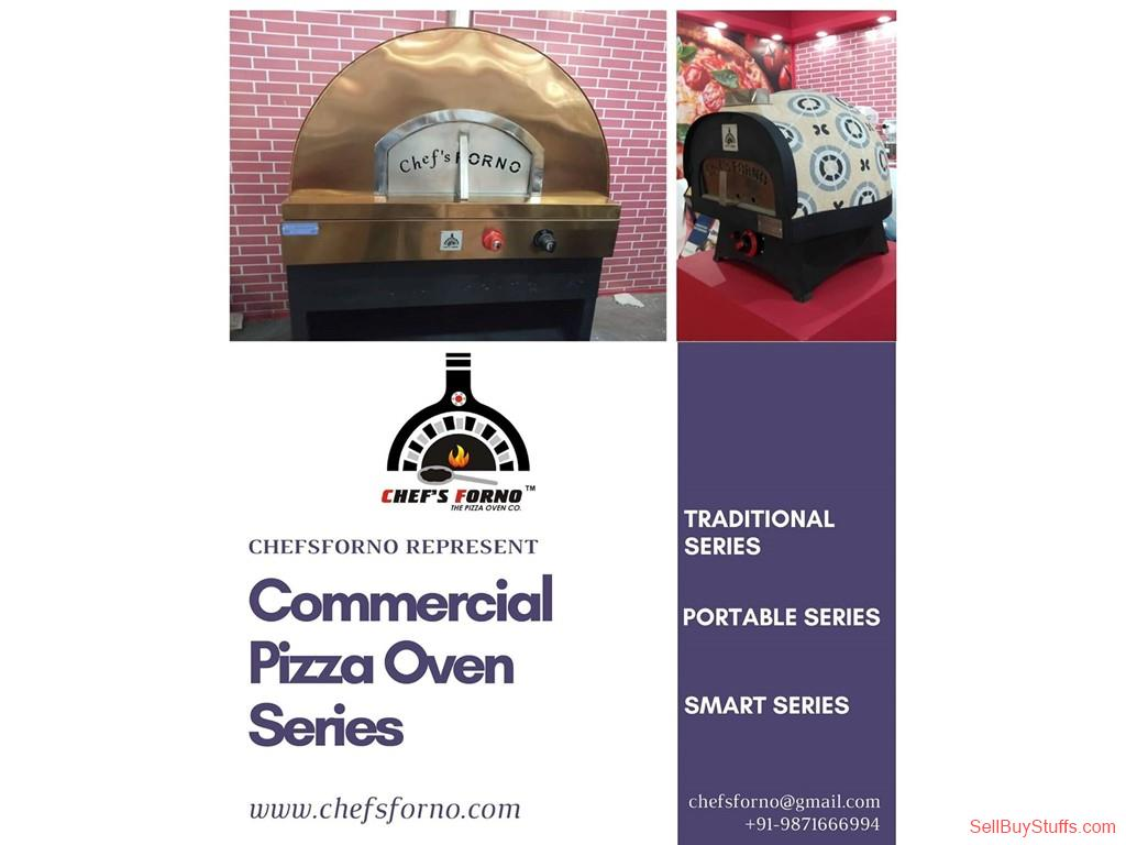 second hand/new: Commercial Portable Wood fire Pizza Oven