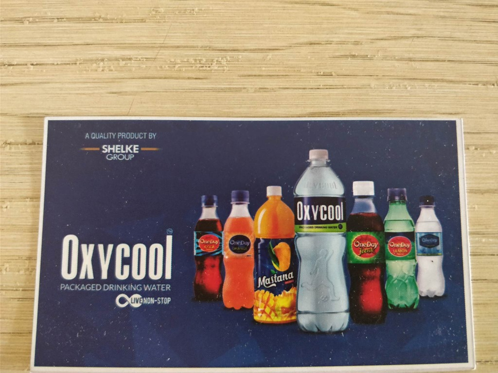business Oxycool Packaged Drinking water