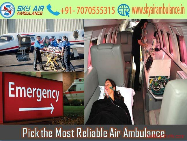second hand/new: Rent High-Class Emergency Air Ambulance Service in Mumbai