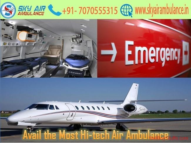 second hand/new: Choose Air Ambulance in Chennai with the Latest ICU Setup