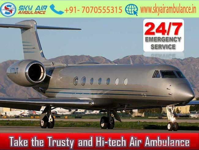 second hand/new: Utilize Excellent Air Ambulance in Kolkata with Healthcare