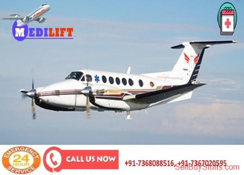 Patna Take Top-Level Air Ambulance Service in Patna with MD Doctor