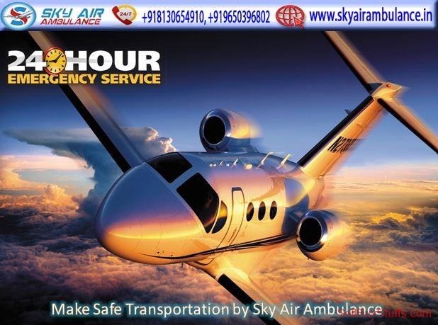second hand/new: Receive India's Fastest ICU Air Ambulance Service in Jamshedpur