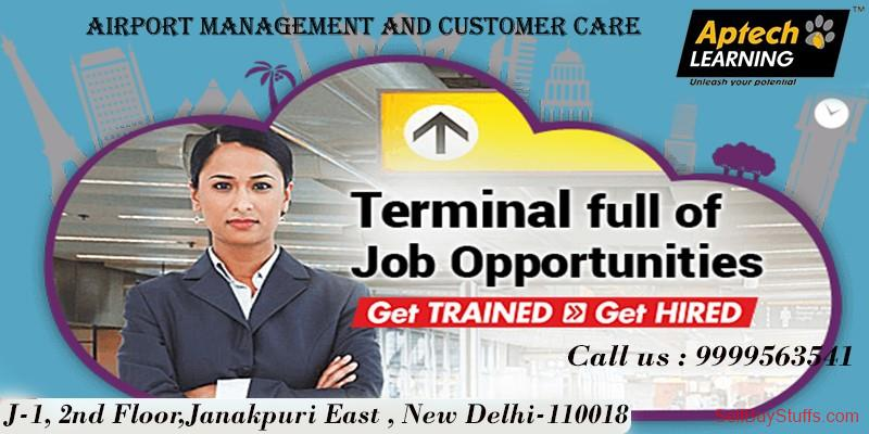 second hand/new: Job Oriented Ground Staff Course in  Aptech janakpuri east Delhi