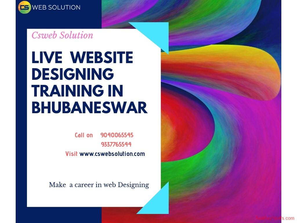 second hand/new: Live Website Designing Training in Bhubaneswar