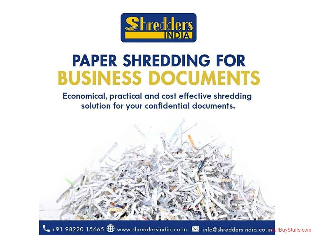 Pune Looking for Paper Shredding of industrial documents? You have landed at the right place.