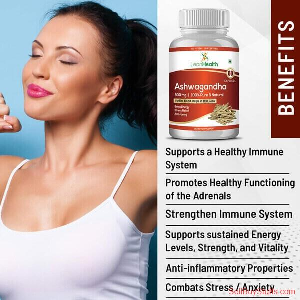 Delhi Buy Leanhealth Ashwagandha for Men and Women